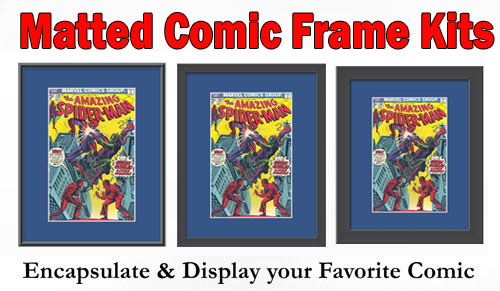 Matted Comic Frames