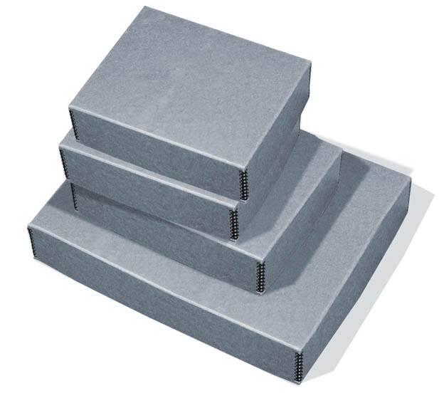 Blue-gray Photo Boxes