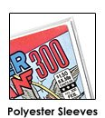 Polyester Comic Sleeves