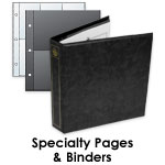 Stamp Specialty Binders and pages