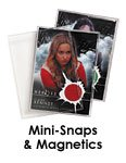 Ultra-Pro® Trading Card Mini- Snaps and Magnetics