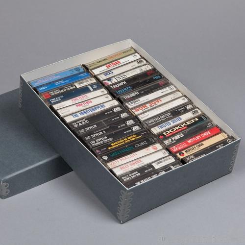 Audio Cassette Storage Boxes
