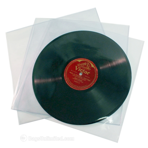78rpm Record Poly Sleeves