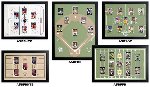 Sports Boards Trading Card Frame Kits