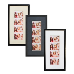 Displays for Photo Booth strips.