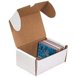 Cardboard Trading Card Boxes