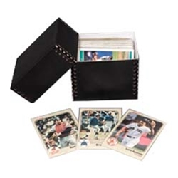 Trading Card Storage Boxes - Archival Black Board