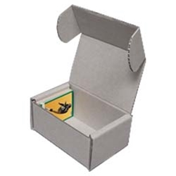 Trading Card Storage Boxes - Archival Corrugated Cardboard