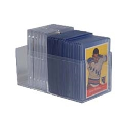 Trading Card Storage Boxes -Crystal Clear Polystyrene