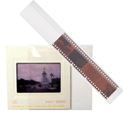 Protective sleeves for photo negatives & photo slides