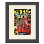 Silver Age Matted Comic Frame Kit