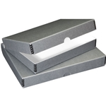 "Blue-Gray Archival Storage Box for 22  x 30"" Images"