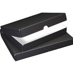 "Black Archival Storage Box for 22  x 30"" Images"
