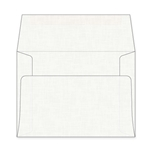 A7 White Linen Envelopes