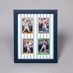 "8 x 10"" Frame Kit for Displaying  Four Trading Cards"