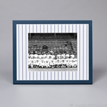 "11 x 14"" Frame for 8 x 10"" Image - Pinstripe Matboard"