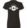 Natural Cotton T-Shirt - LP & 45 Record Design
