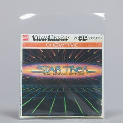 Viewmaster Clear Poly Sleeve