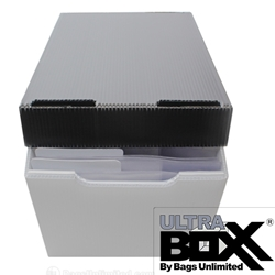 Plastic Corrugated Storage Boxes for Pulp Magazines