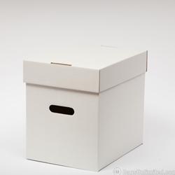 12  Vinyl Record Storage Box CORRUGATED CARDBOARD & 12
