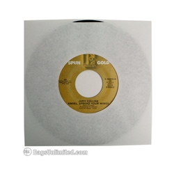 7'' WHITE Paper Sleeve