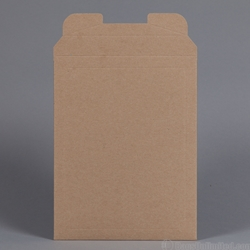 Rigid Mailer. Brown Kraft. 8-7/8 x 11-1/8""