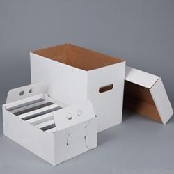 Vhs Tape Storage Box Corrugated Cardboard