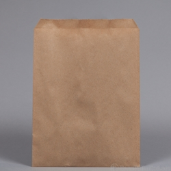 Natural Kraft Paper Bag FLAT