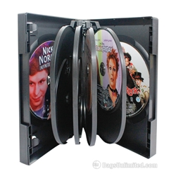 VERSAPak® 9 or 10 DVD Case - BLACK