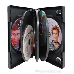 VERSAPak® 7 DVD Case - BLACK
