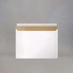 White Stayflats Lite Mailers 9-3/8 x 5-5/8""