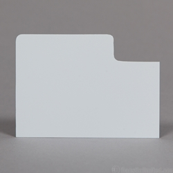 Polystyrene Divider Cards for Trading Card Box