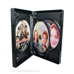VERSAPak® 3 DVD Case - BLACK