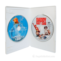 DOUBLE DVD Case - White