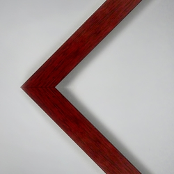 "16 x 20"" Assembled Pinewood Frame - Mahogany Laminate Finish"