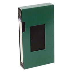 VHS Paperboard Slipcase. WITH window.