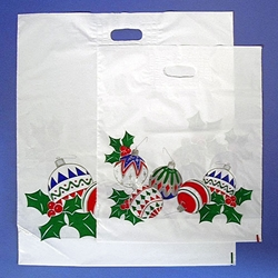 Holiday Ornaments Carryout Bag
