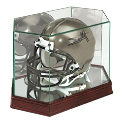 Glass Display Case for Football Helmet