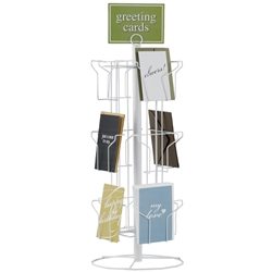 Greet Card Display Rack
