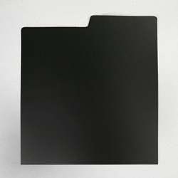 Record Divider Card - BLACK- Indexed