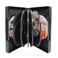 VERSAPak® 12 DVD Case - BLACK
