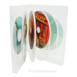 Clear Multi-Disc DVD Cases