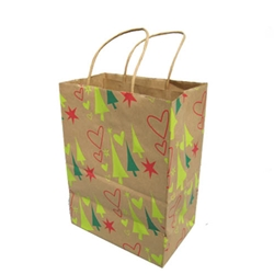 Kraft Shopper - 100% RECYCLED PAPER