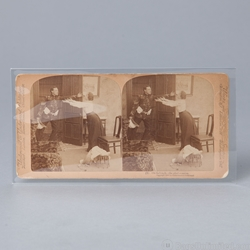 POLYESTER  <b>Sleeves </b> for STEREOVIEW CARDS