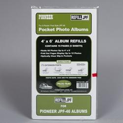 Photo Album  Refill Pages with Pockets