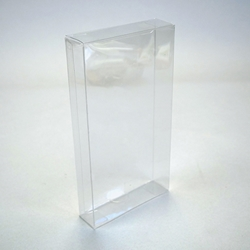 VHS Slip Case Box Protector-Crystal Clear