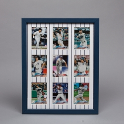 "14 x 11"" Frame Kit for Displaying  Nine Trading Cards"