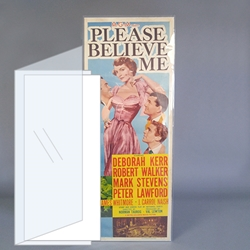 Acid-free Polyester Insert Poster Sleeves
