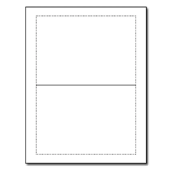 Blank White ​A7 Folded Greeting Cards