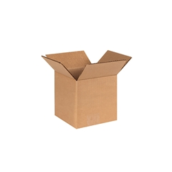 Kraft Corrugated Shippers 6 x 6 x 6""